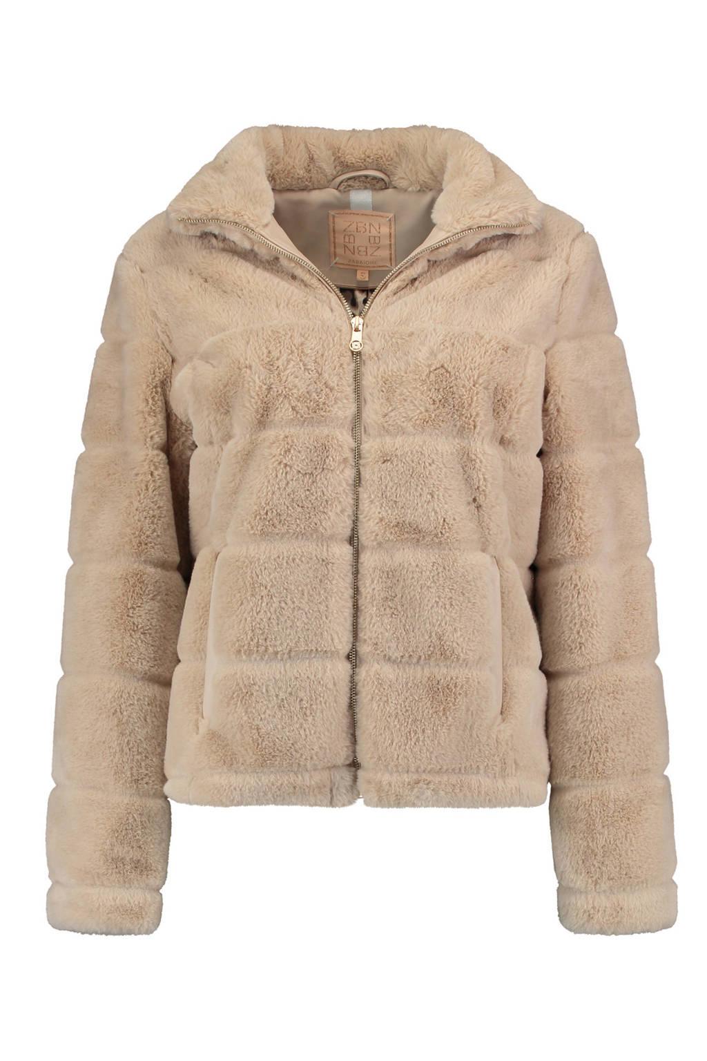 Zabaione jack Jacket Amber bruin, Bruin