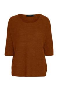Soaked In Luxury top Tuesday met wol roodbruin, Roodbruin