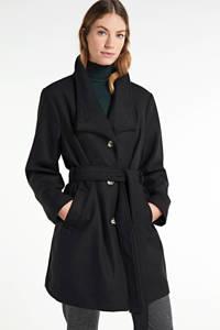 Ellos coat Jenny met wol zwart, Zwart