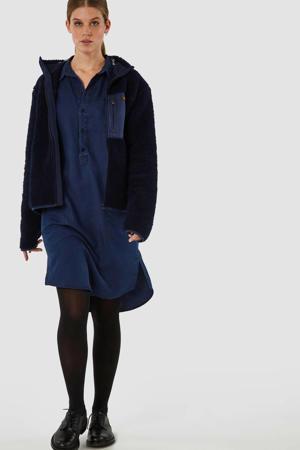 blousejurk Emiko blauw