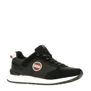 Travis Drill M suède sneakers zwart