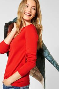 CECIL fijngebreide trui rood, Rood