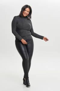 ONLY CARMAKOMA broek zwart, Zwart