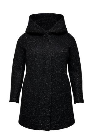 coat zwart/wit