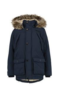 Vingino gewatteerde winterjas Thibaut donkerblauw, Donkerblauw