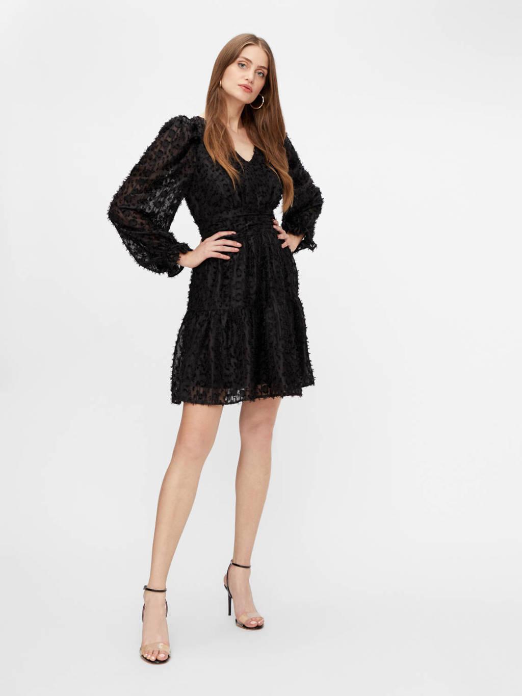 Y.A.S blousejurk zwart, Zwart