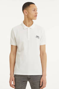 GUESS regular fit polo wit, Wit