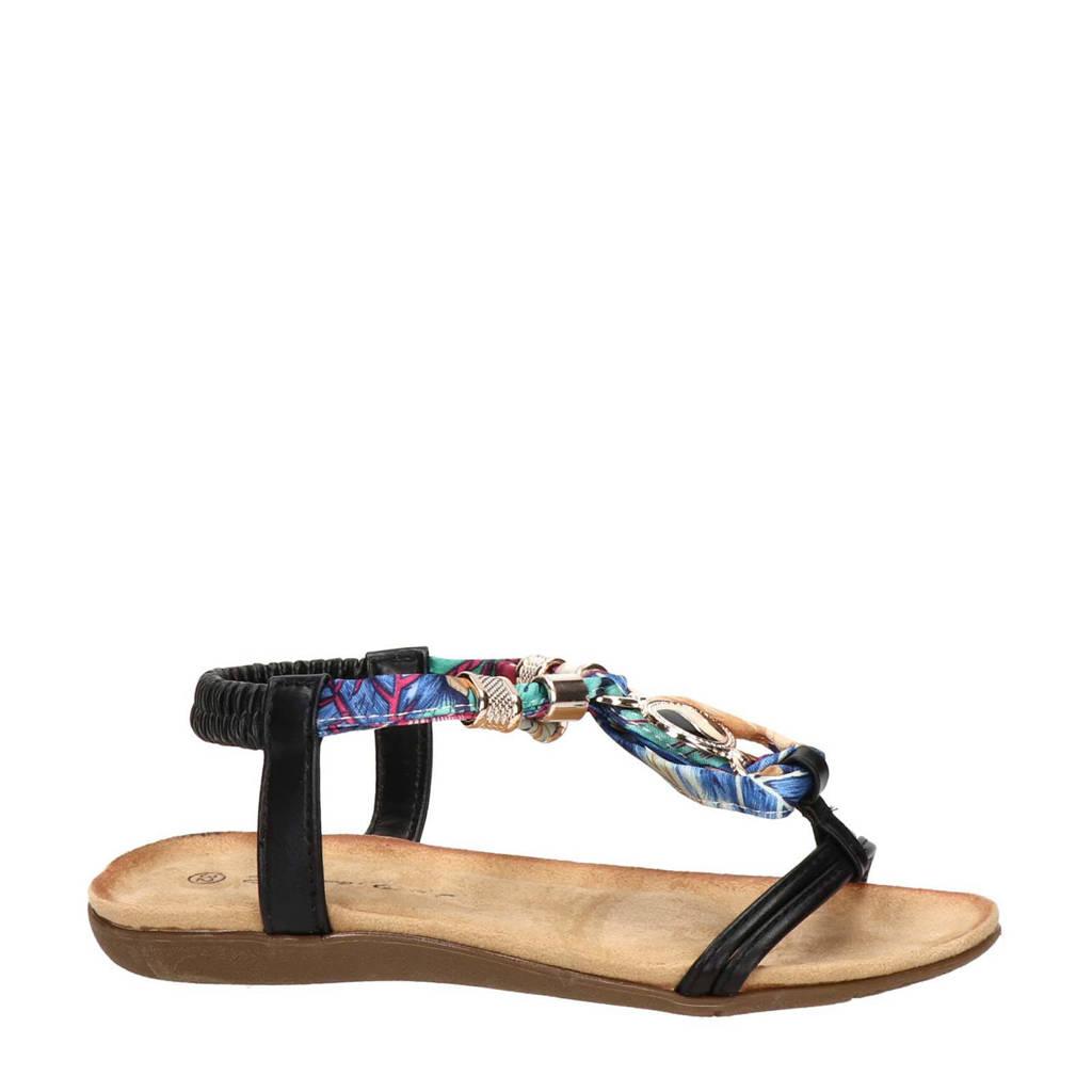 Nelson Kids   sandalen zwart/multi, Zwart/multi
