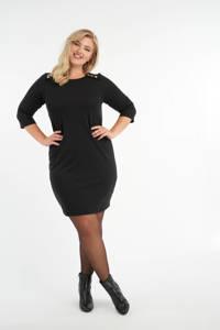 MS Mode jurk zwart, Zwart