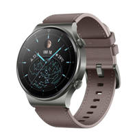 Huawei  Watch GT 2 Pro smartwatch (grijs/bruin)
