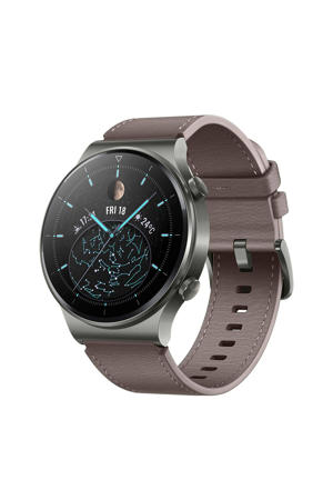 Watch GT 2 Pro smartwatch (grijs/bruin)
