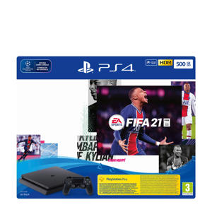 PlayStation 4 Slim 500GB + FIFA 21