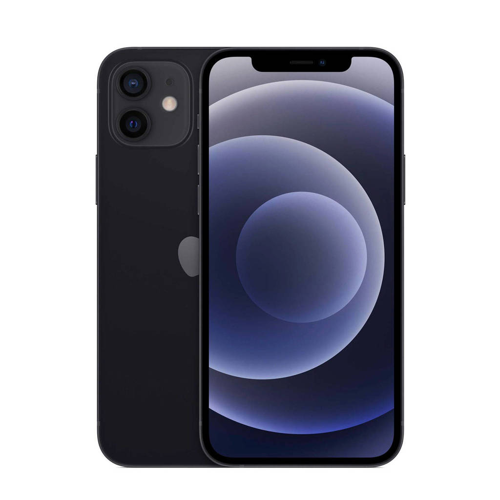 Apple iPhone 12 128 GB (zwart), Zwart