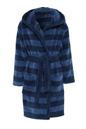 badjas blauw/donkerblauw