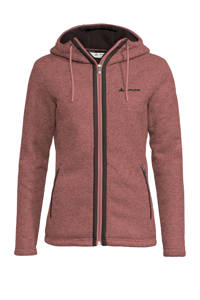 Vaude fleece vest Skomer rood, Dusty-Rose