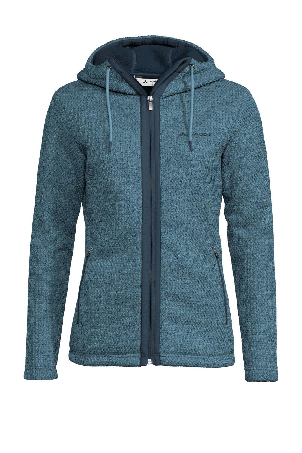 Vaude fleece vest Skomer blauw, Blue-Gray