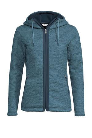fleece vest Skomer blauw