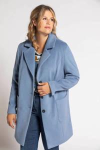 Ulla Popken coat lichtblauw, Lichtblauw