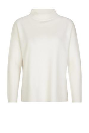 fijngebreide trui wit