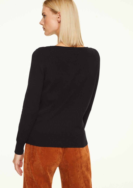 comma trui zwart, Zwart