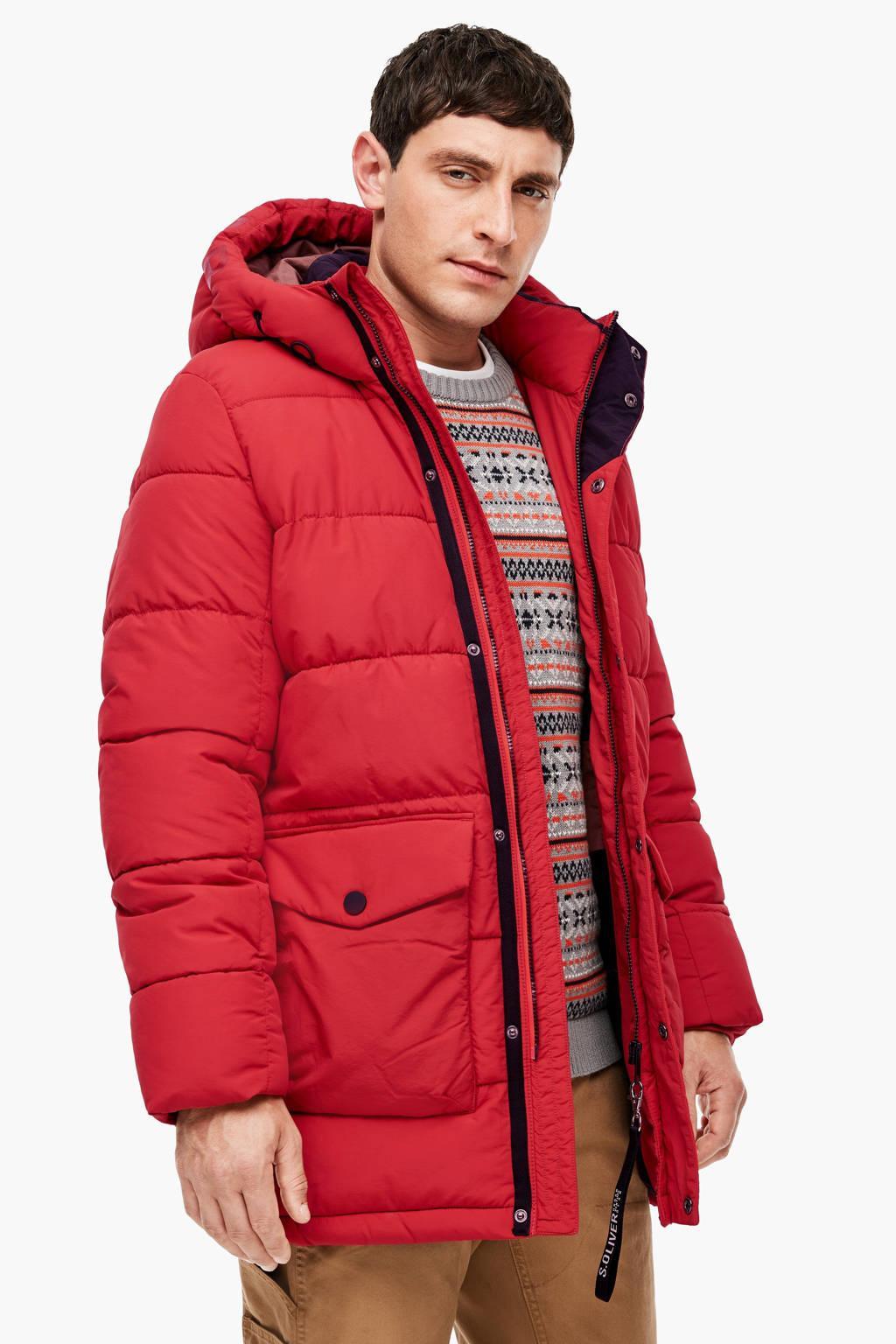 s.Oliver jas rood, Rood