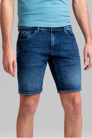 slim fit jeans short V18 mwf