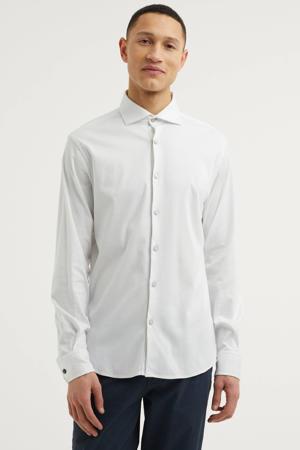 regular fit overhemd Mercerized Supima wit