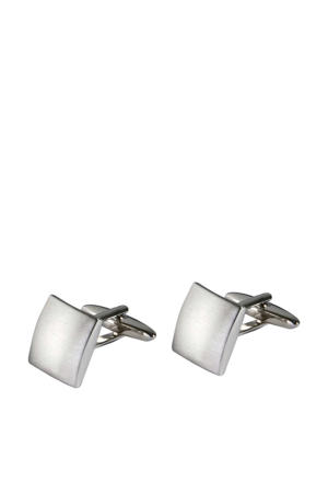 manchetknopen zilver/wit