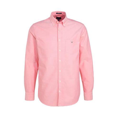 GANT regular fit overhemd roze