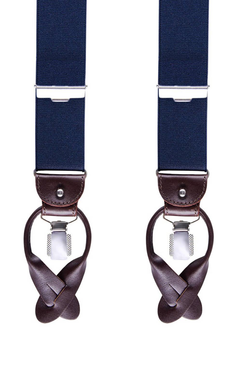 Profuomo bretels donkerblauw, Donkerblauw