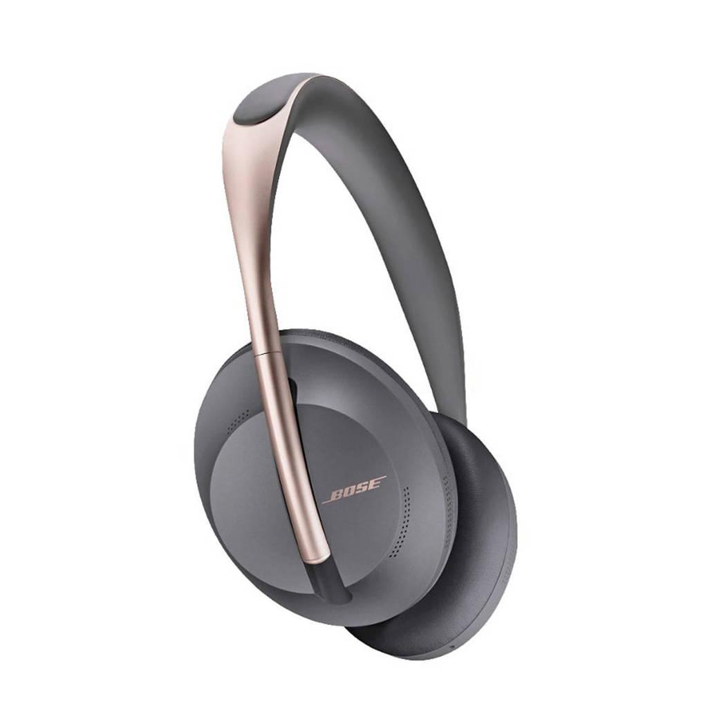 Bose Noise Cancelling 700 draadloze over-ear hoofdtelefoon (grijs), Copper colour,Grey