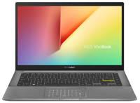 Asus S433EA-EB038T 14 inch Full HD laptop, Zwart