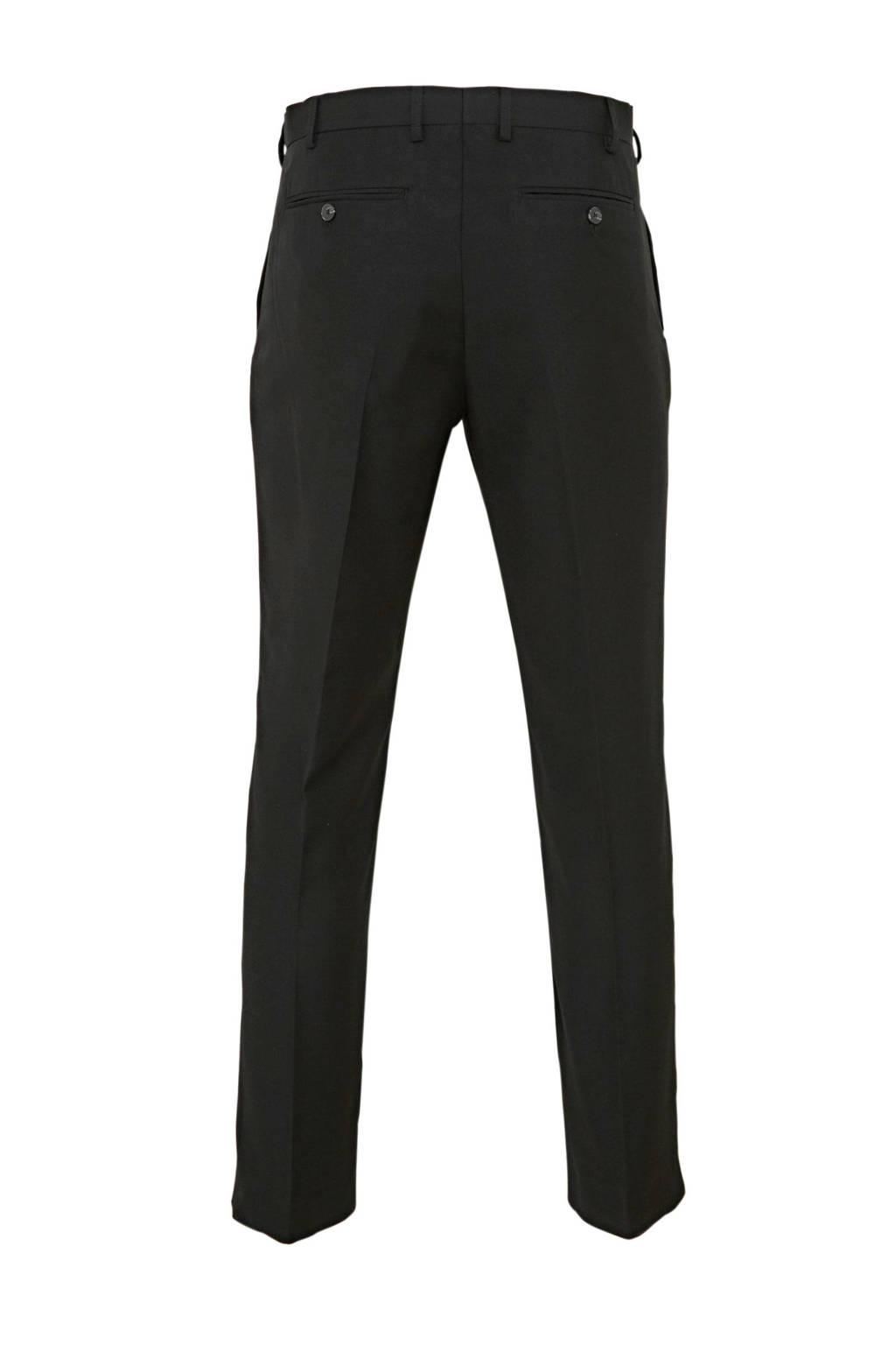 C&A Angelo Litrico slim fit pantalon zwart, Zwart
