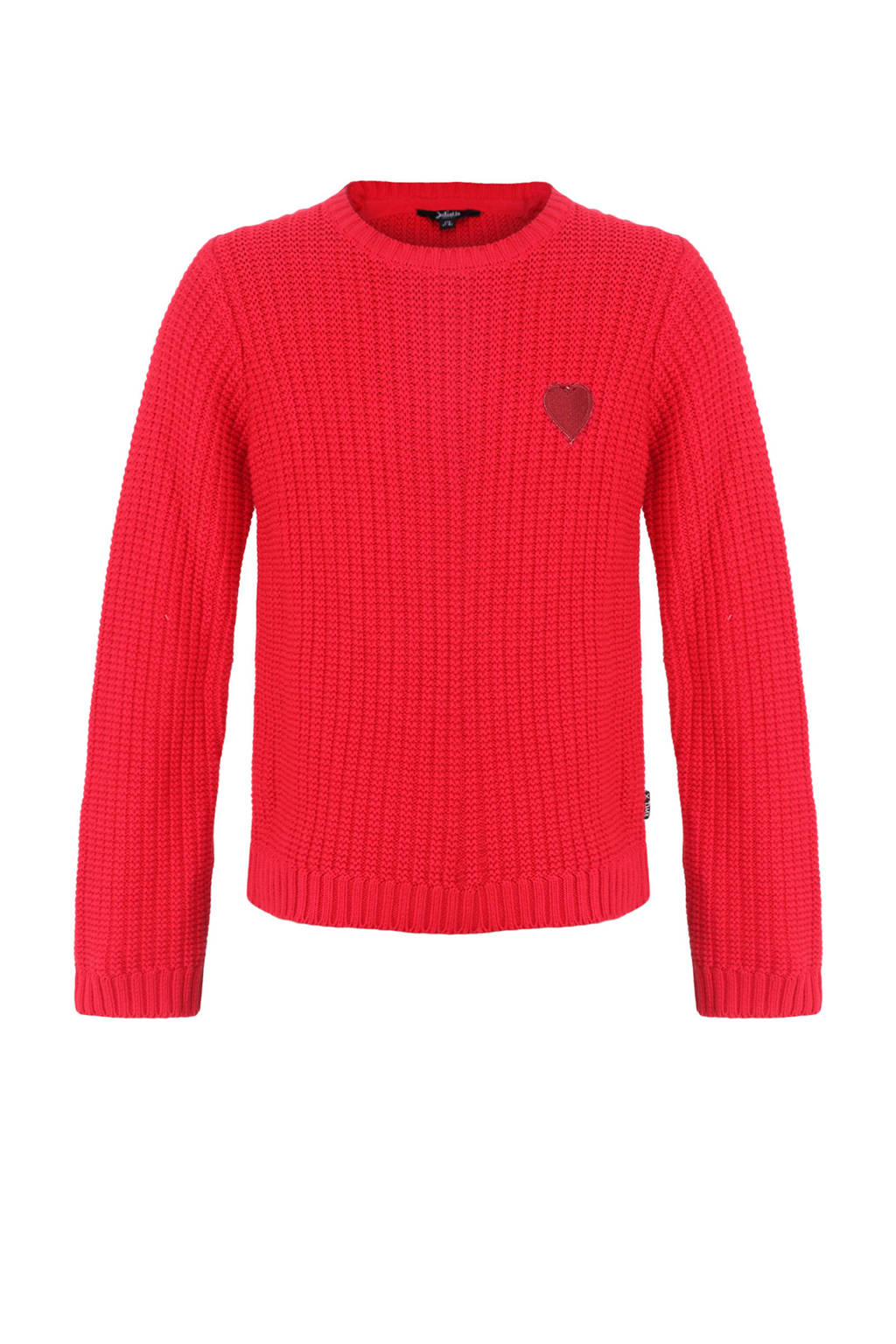 Little Miss Juliette sweater met printopdruk rood, Rood