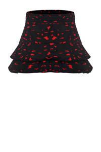 Beebielove rok met all over print donkerblauw/rood, Donkerblauw/rood