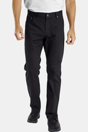 loose fit broek Plus Size Einar zwart