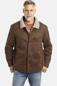 Jan Vanderstorm jas Plus Size lOTHAR camel, Camel