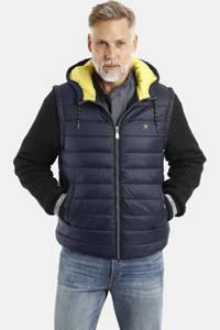 Jan Vanderstorm jack Plus Size tussen Sondre donkerblauw, Donkerblauw