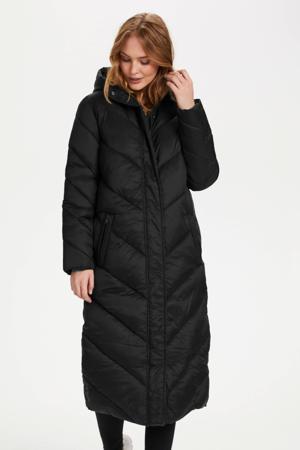 gewatteerde jas Catja zwart