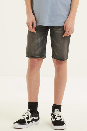 regular fit jeans bermuda Oregon black