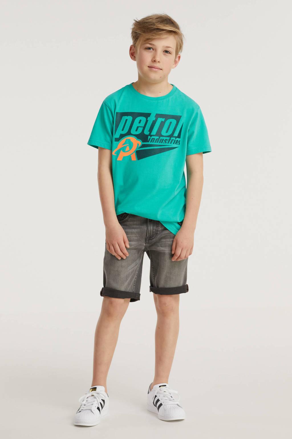 Raizzed regular fit jeans bermuda Oregon mid grey stone, Mid grey stone