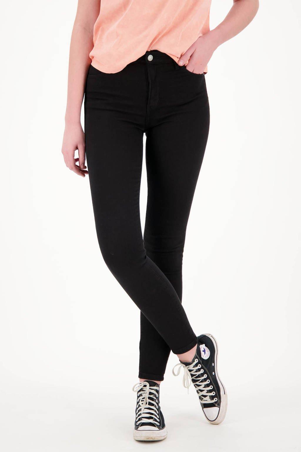 Raizzed high waist super skinny jeans Blossom black, Black