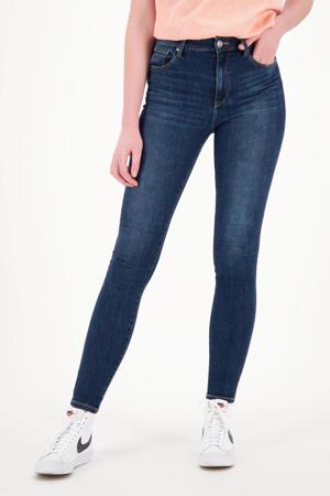 high waist super skinny jeans Blossom dark blue stone