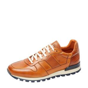 Rimini  leren sneakers cognac