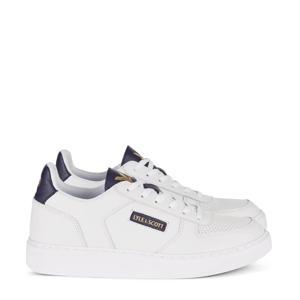 McMahon  leren sneakers wit/donkerblauw