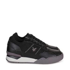 Severin  leren sneakers zwart