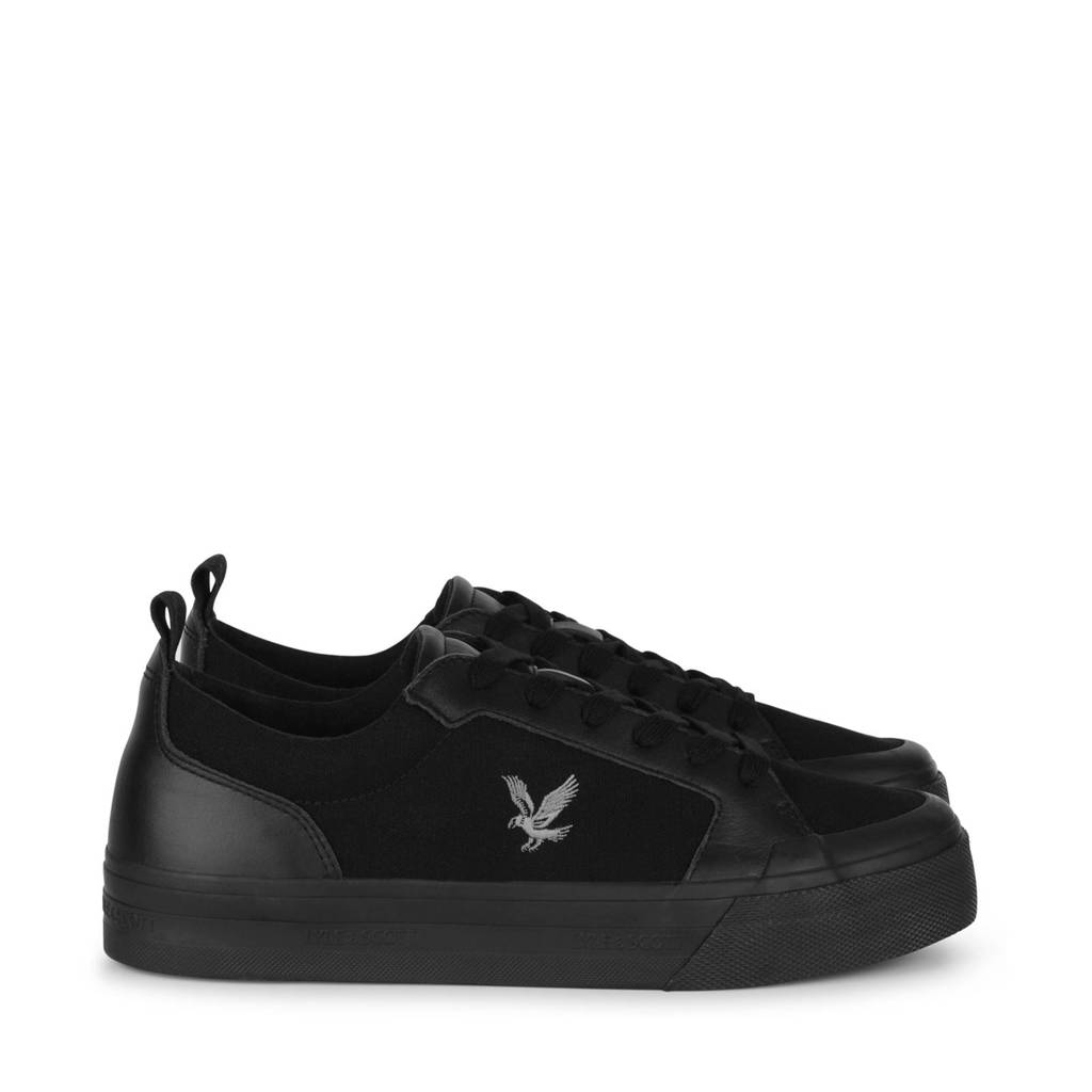 Lyle & Scott Est 1874  sneakers zwart, Zwart