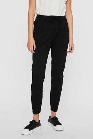 high waist tapered fit broek Eva zwart