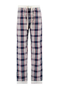 America Today Junior pyjamabroek donkerblauw/wit/rood, Donkerblauw/rood/wit