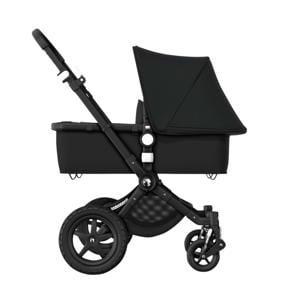 Cameleon 3 Plus kinderwagen/stoel/reiswieg, zwart frame/zwarte stof/zwarte zonnekap